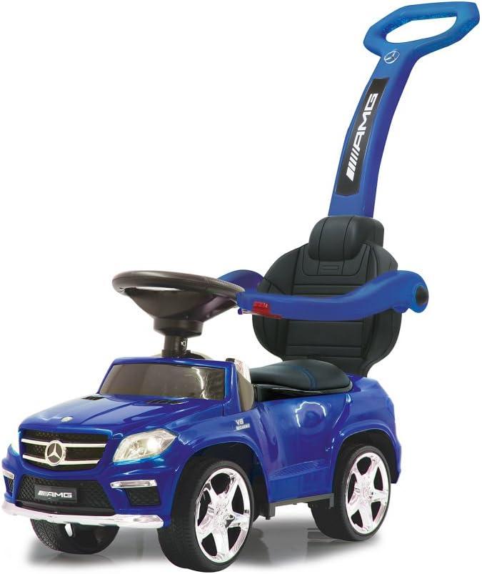 Jamara- Push Car GL63AMG Blue 2in1 Corre Pasillo Mercedes GL63 AMG 2i n 1, Color (460307)