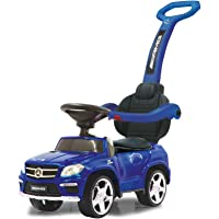 Jamara- Push Car GL63AMG Blue 2in1 Corre Pasillo