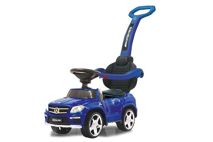 Bobby Car mit Licht - Rutscher mit Licht - Jamara Mercedes 4in1 Blau