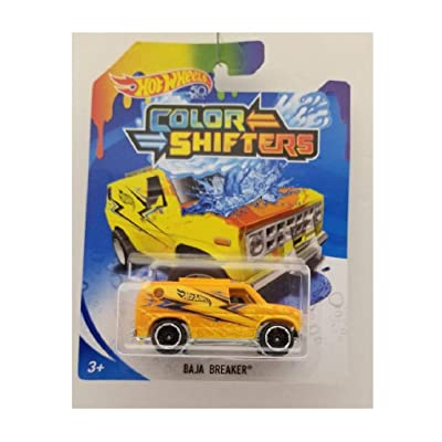 Hot Wheels Color Shifters Baja Breaker: Toys & Games
