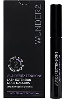 de524694f70 WUNDER2 Wunderextensions Lash Extension Stain 72 Hours Long Lasting Mascara…
