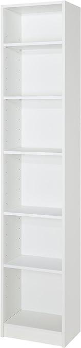 Mueblecasa Estantería Librería Alta Kit 5 Baldas Madera Alto 200cm X Ancho 40cm X Fondo 27 Blanco Amazon Es Juguetes Y Juegos