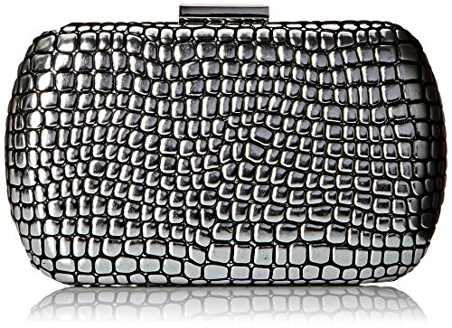BIG BUDDHA Lush Evening Bag, Pewter, One Size