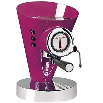 Bugatti 15-edivacl máquina para café espresso y capuchino Diva Evolution, lila