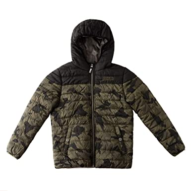 6986f8664b74 Amazon.com  SNOW DREAMS Little   Big Boys Camo Quilted Jacket ...