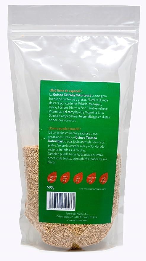 Quinoa Tostada Grano (500 grs.)