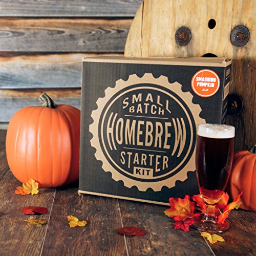 1 Gallon Small Batch Homebrew Beer Equipment Starter Kit with Smashing Pumpkin Ale Beer Recipe Kit (Small Beer Brewing Kit compare prices)