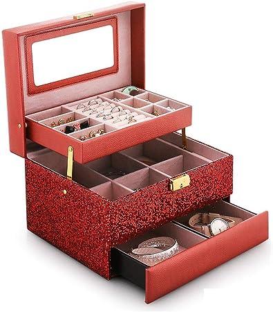 Cajas para joyas Caja Para Joyas Joyero Caja Organizador De Joyas Caja De Joyería Caja De