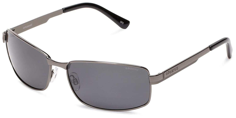 bf9bd5908a0a0 Amazon.com  Polaroid Sunglasses Men s P4312s Polarized Rectangular ...