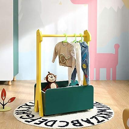 Amazon.com: Chunlan Coat Racks Solid Wood Childrens Floor ...