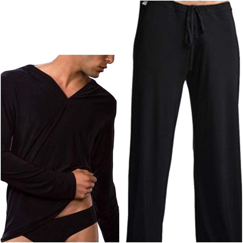 Yamed Men Sleepwear Male Pajama Pants Sleepwear Pajama Pants Set Sleepwear Casual Clothes