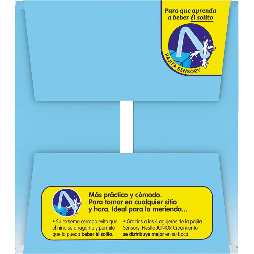 Nestlé Junior 1+ Original - Leche para niños a partir de 1 año - 6x200ml, sin azúcar añadido ni aceite de palma: Amazon.es: Alimentación y bebidas