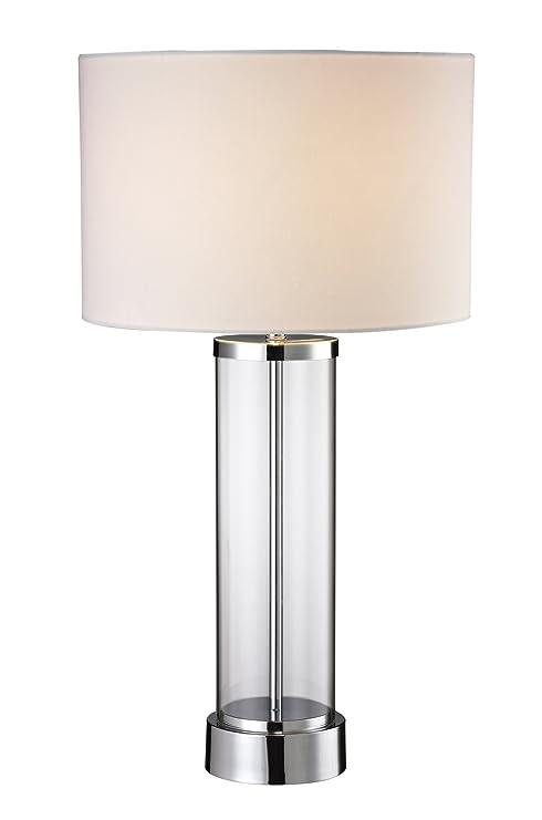 Amazon.com: luxeria L2 lux1020 Chrome & Clara vidrio moderna ...
