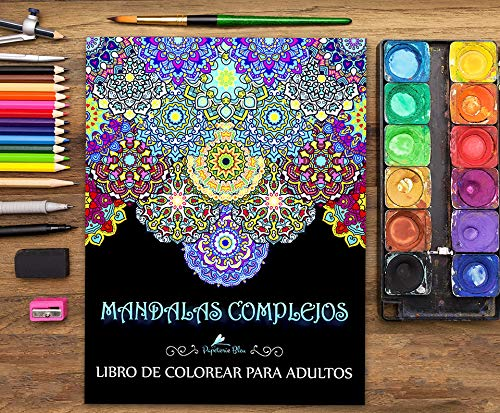 Mandalas Complejos: Libro De Colorear Para Adultos Tapa blanda ? 30 jun 2016 7