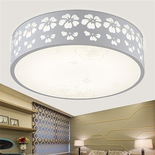Lámpara de techo con bombillas LED - Lámparas de diseño para dormitorio y salón, diámetro 30 cm, 12 W