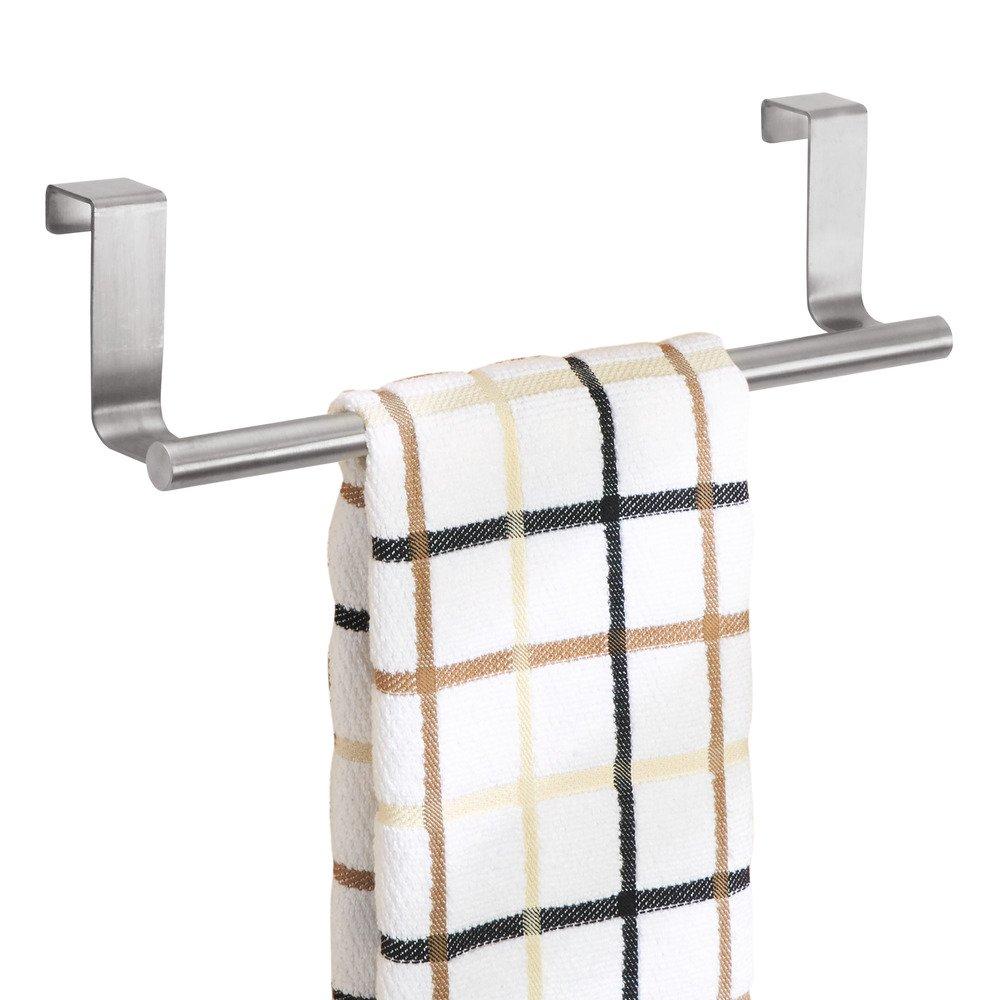 Towel Hanger Amazoncom Interdesign Forma Over Cabinet 9 Towel Bar Brushed