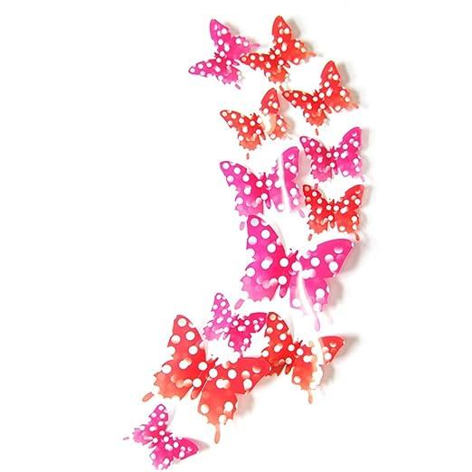 140 opinioni per ufengke® 12 Pezzi 3D Farfalle Adesivi Murali Fashion Design DIY Farfalla