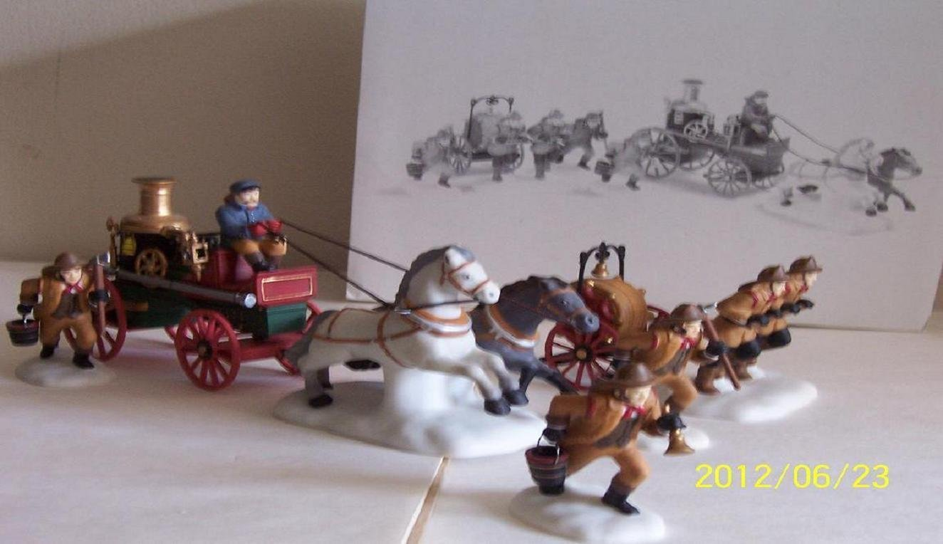 Dept.56-Dickens' Accessory-(THE FIRE BRIGADE OF LONDON TOWN) by Department 56