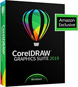 CorelDRAW Graphics Suite 2019 with ParticleShop Brush Pack for Windows - Amazon Exclusive - Upgrade [PC Disc] [Old Version]
