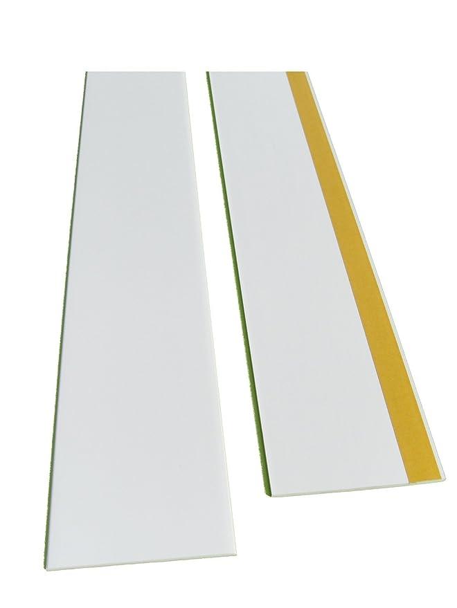Fensterleiste Flachprofil PVC selbstklebend 50mm breit 5m lang Abdeckleiste