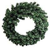 Admired By Nature GXW9810-NATURAL 30″ 240 Tips Canadian Christmas Pine Wreath Review