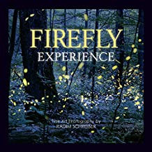 Firefly Experience - Fine Art Photography Book By Radim Schreiber, Photos of Fireflies, Lightning Bugs, Glow-Worms, Night Photography, Glow-in-the-Dark Book Cover, Photo-Book for Adults and Children