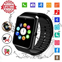 Bluetooth Smartwatch Waterproof Fitness Gt08 Black Price