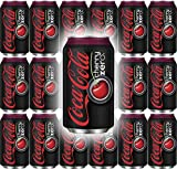 Coke Zero Cherry Flavor, 12 Oz can (Pack of 18, Total of 216 Fl Oz)