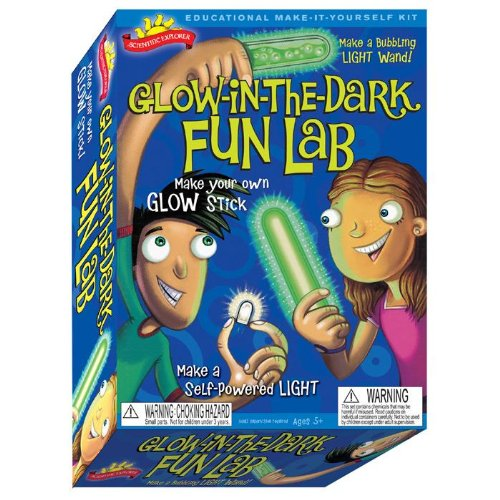 Scientific Explorer's Glow in the Dark Fun Lab Science Kit