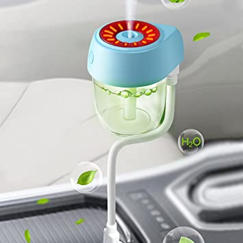 Car Humidifier Humidificador de aire del coche Mini difusor de aceite esencial del aroma del ambientador