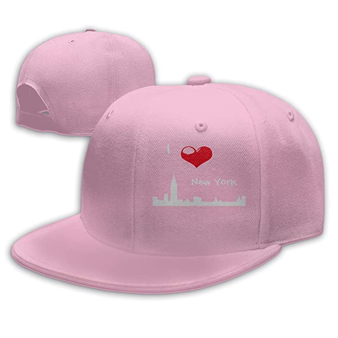 Amazon.com  Boys and Girls 100% Polyester I Love New York Snapback ... f53739681