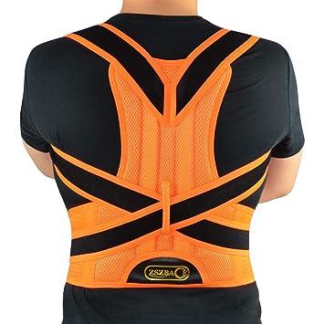 ZSZBACE Corrector de postura para espalda y hombros, soporte para ...