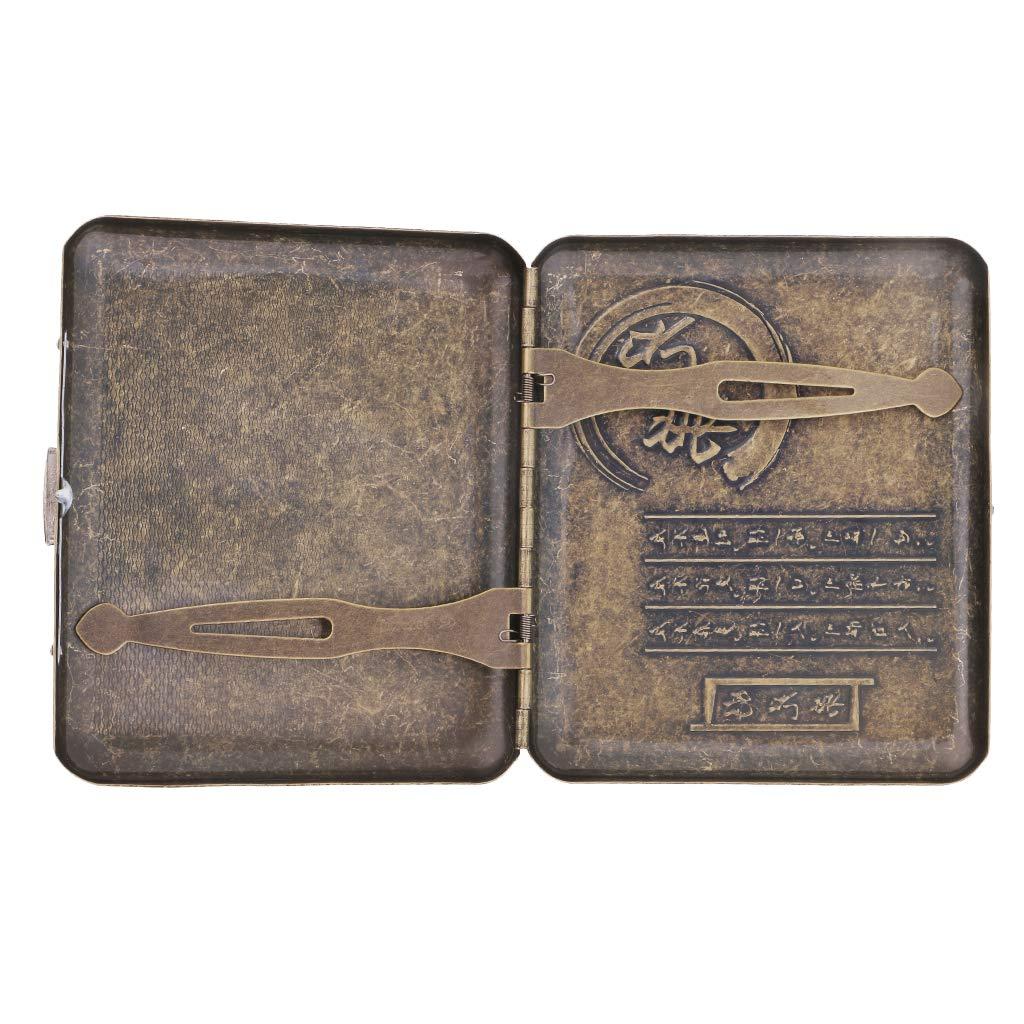 Amazon.com: MagiDeal - Estuche de metal y cobre, para ...