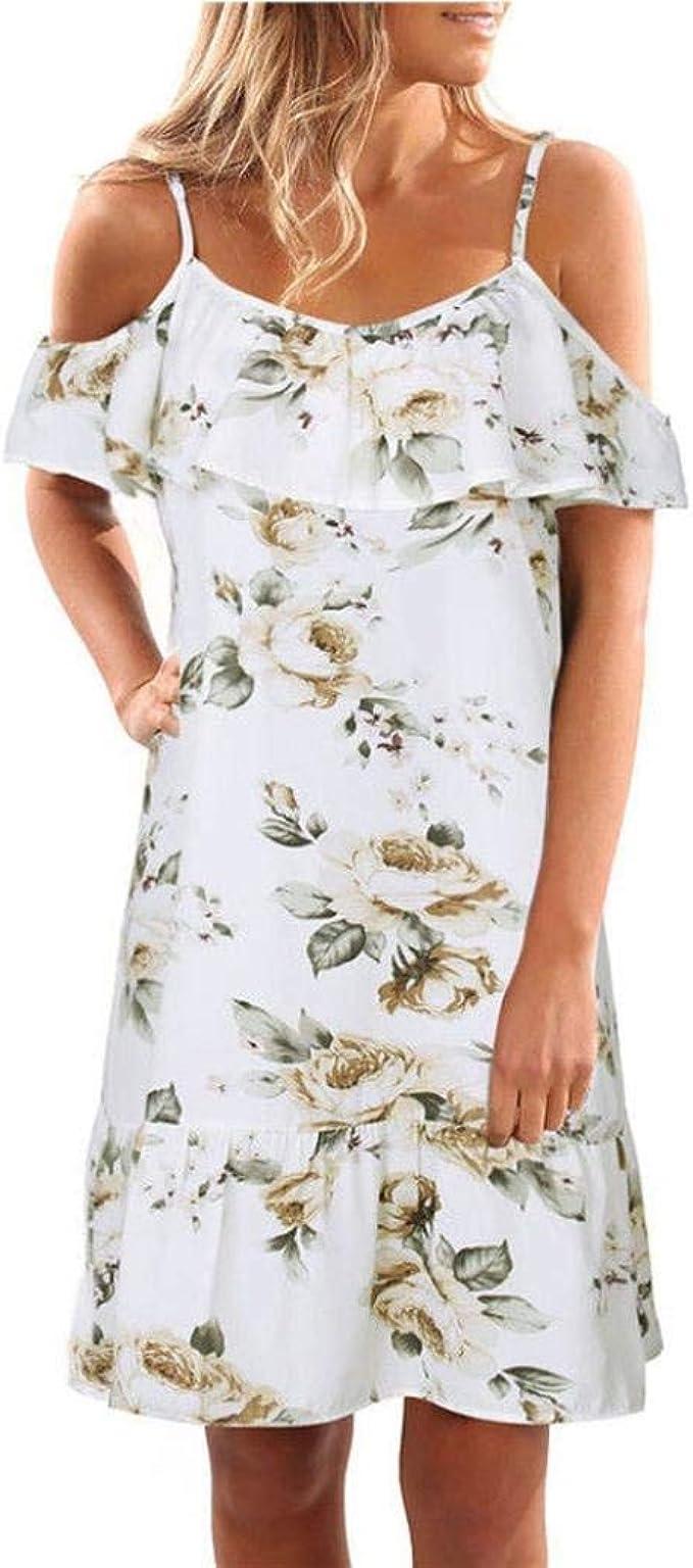 Vestido De Noche Floral Maxi para Mujer Vestido Vestido De Moda ...