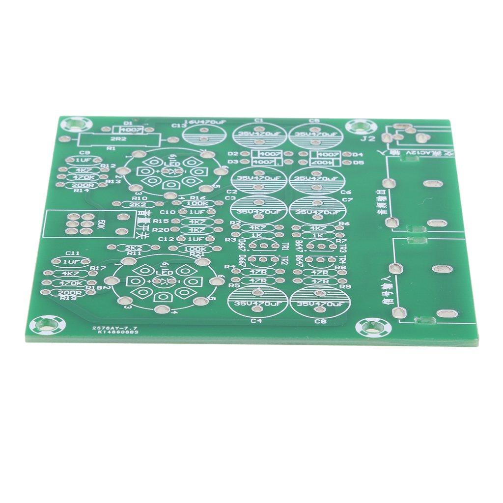 Gazechimp Kit de Amplificador de Tubo de Válvula 6J1 Bricolaje DIY Audio para Estéreo: Amazon.es: Electrónica