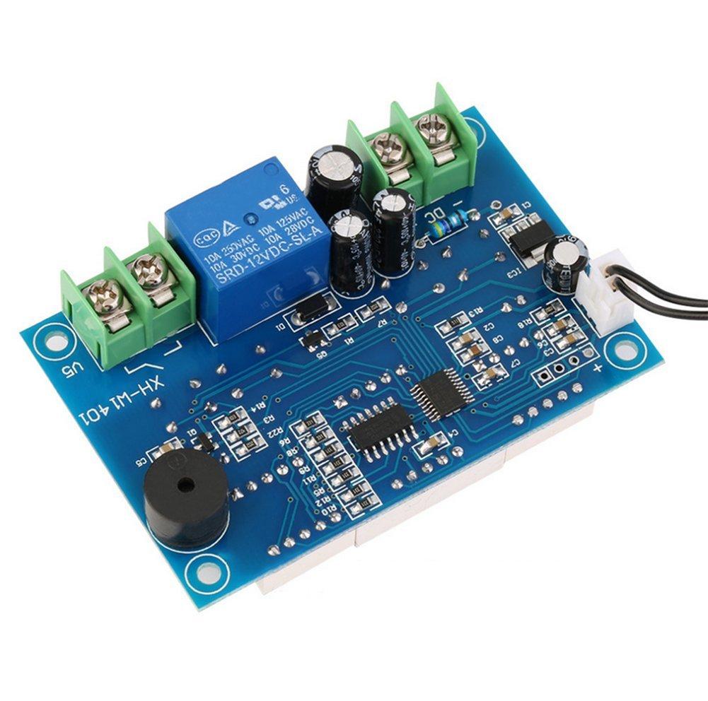 daorier xhw1401 DC 9 - 15 V regulador de temperatura digital Termostato Temperatura Interruptor Sensor de 9 - 99 °C 3 Pantalla Módulo: Amazon.es: ...