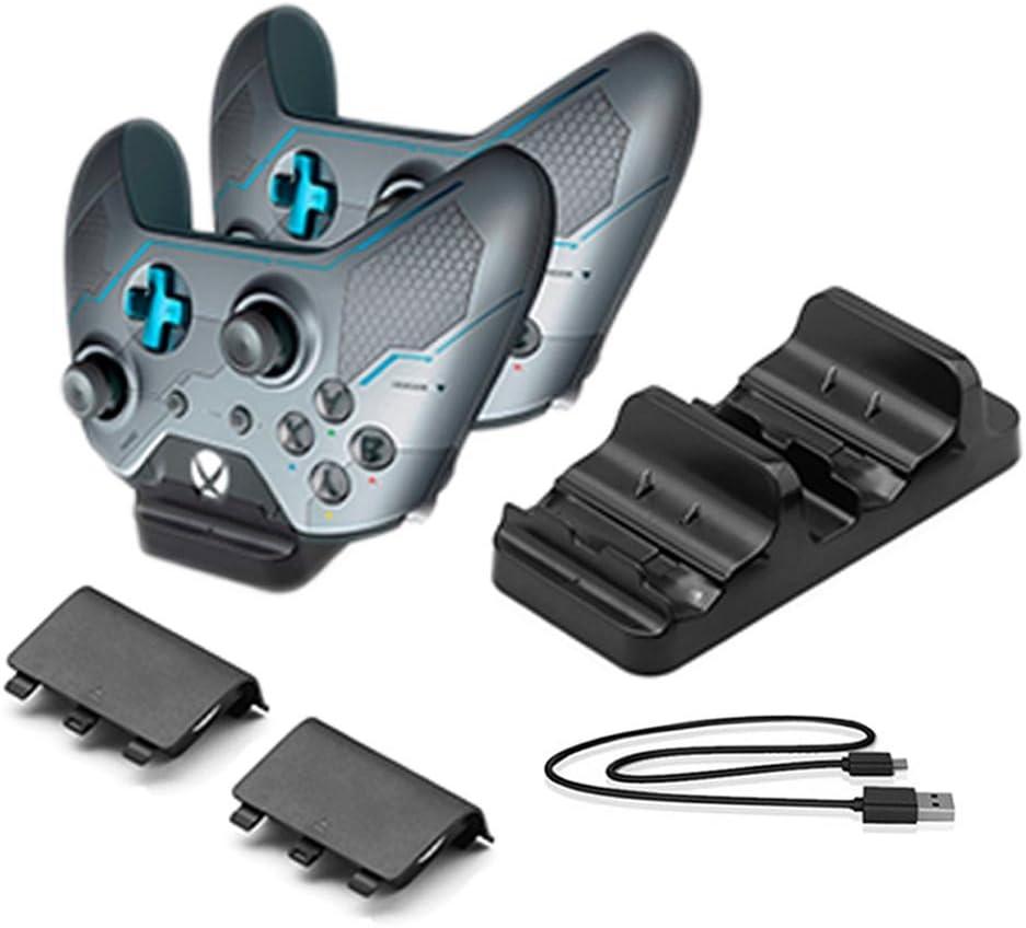 Amazon.com: Hongye Xbox One Charger Dual Dock Charging ...