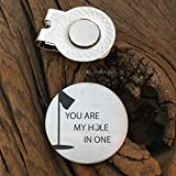 Best Sierra Metal Design Birthday Gift For Men - You are My Hole in One Golf Gift Review