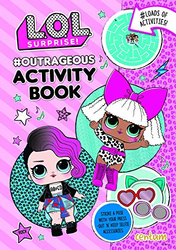 MGA LOL L.O.L. Surprise Outrageous Activity Book