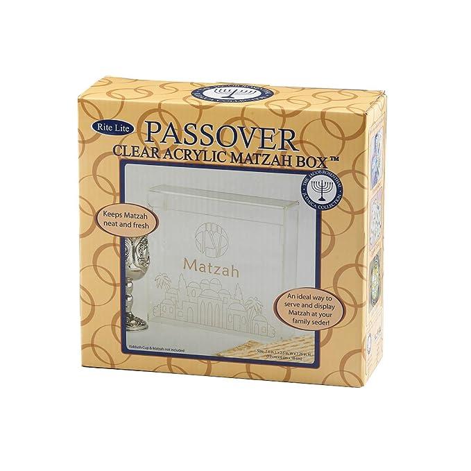 Rite-Lite Judaic Hinged Matzah Box