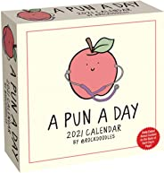 A Pun a Day 2021 Day-to-Day Calendar by @rockdoodles