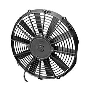 "Spal 30100384 12"" Straight Blade Low Profile Fan"