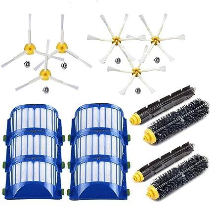 EEEKit Reemplazo de los cepillos del Kit Serie Roomba 600 de iRobot - Juego de Accesorios