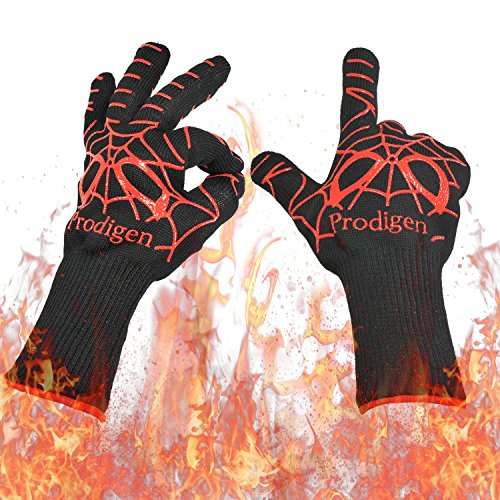 fireplace accessories gloves - 5