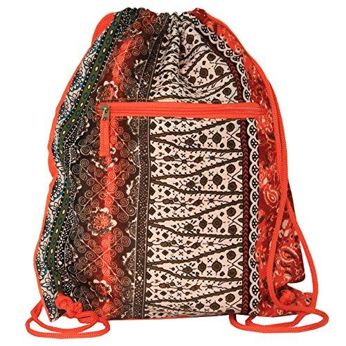world-traveler-15-inch-drawstring-backpack-bag-bohemian-orange-one-size