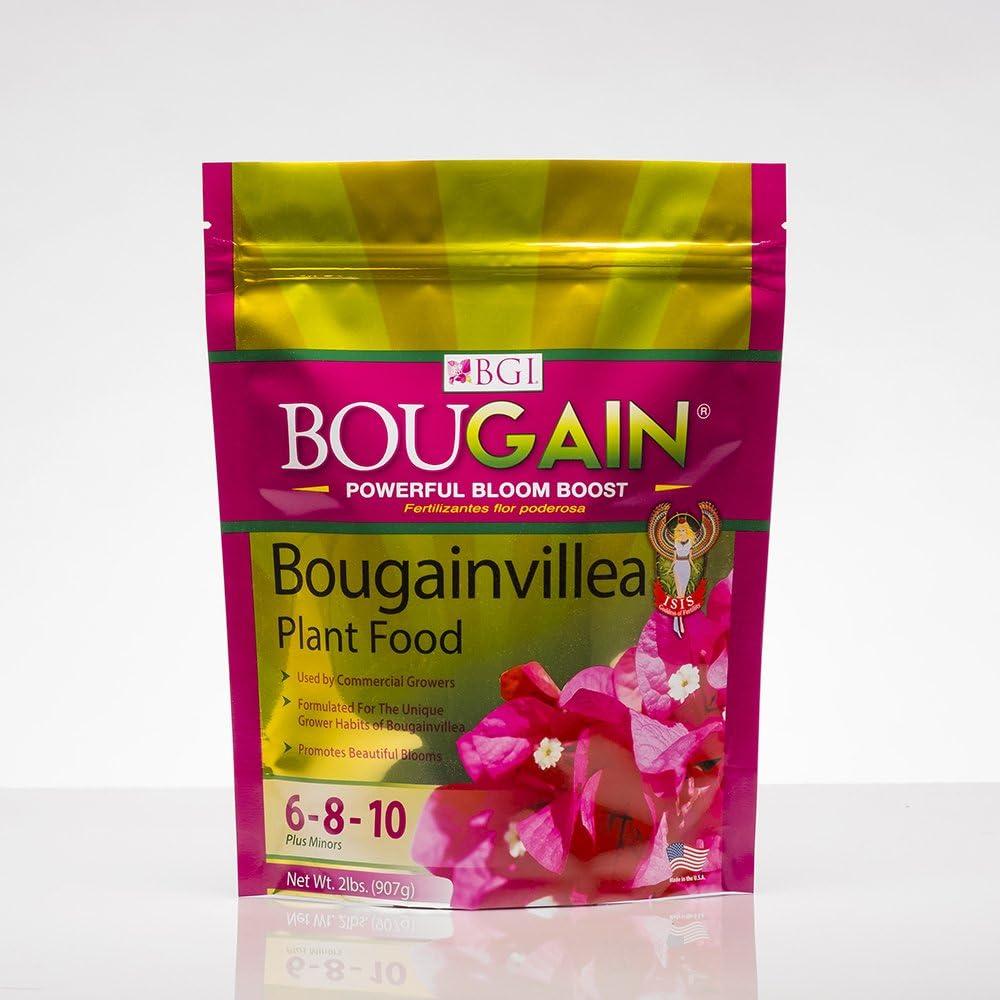 BGI Fertilizers Bougain Bag, Bougainvillea Fertilizer, Bougainvillea Plant Food, 2 lb