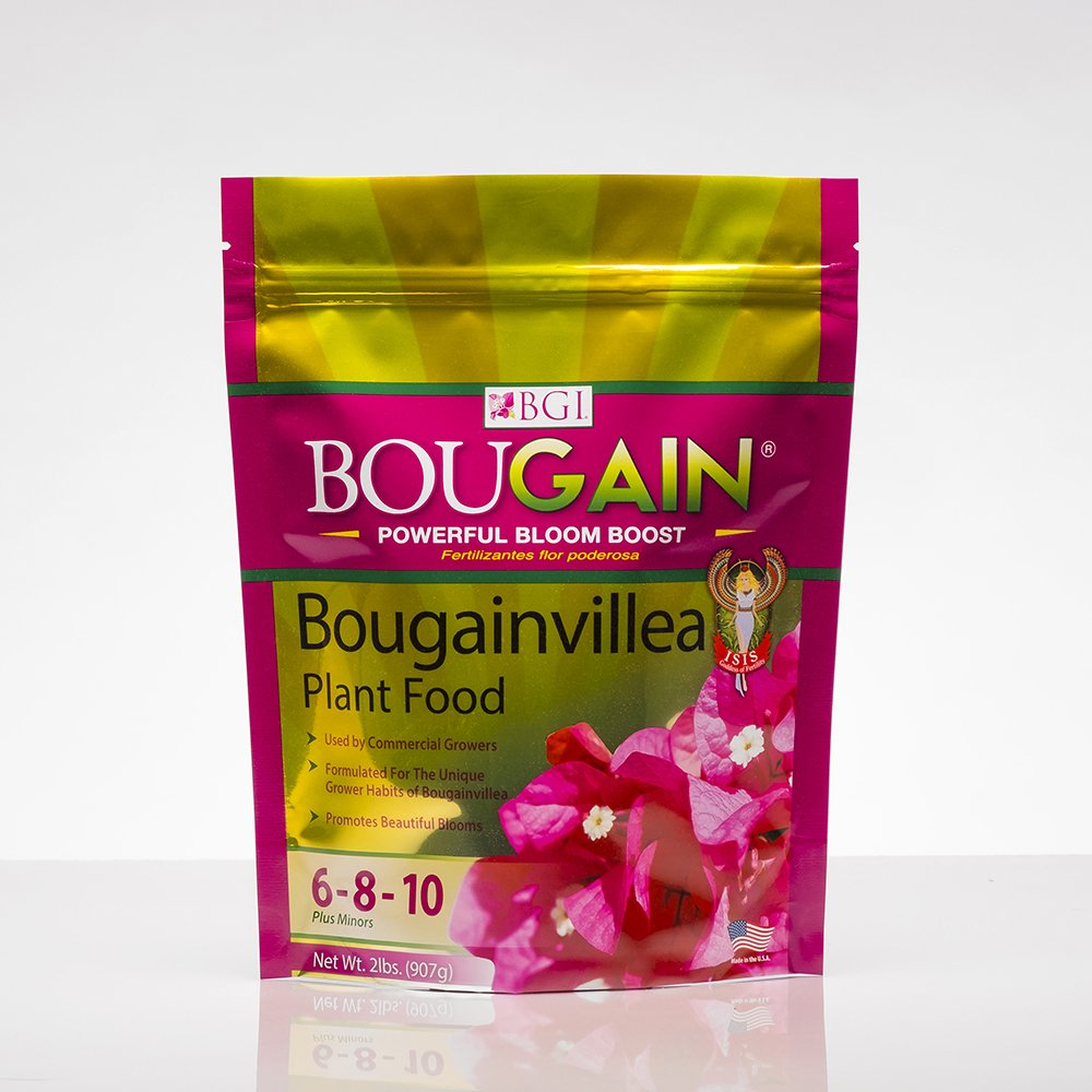 BGI Fertilizers BOUGAIN 2lb Bag, Bougainvillea Plant Food by BGI Fertilizers