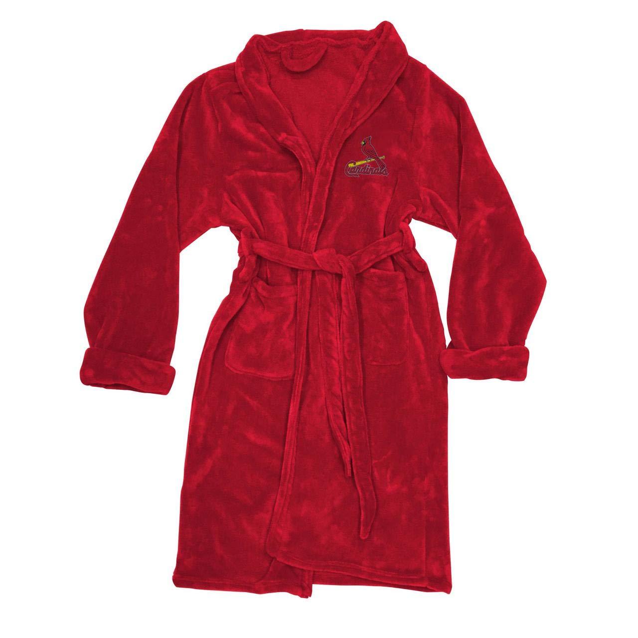 The Northwest Company MLB Unisex-Adult Mens L//XL Silk Touch Bath Robe