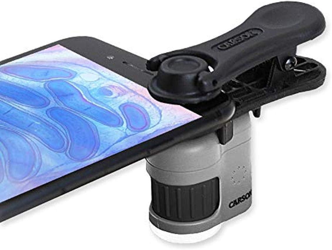 Carson Micromini Leistungsstarkes Taschenmikroskop Mit Kamera