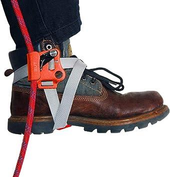 NewDoar Dispositivo de escalada del alpinismo de la escalada del elevador del pie del elevador del elevador